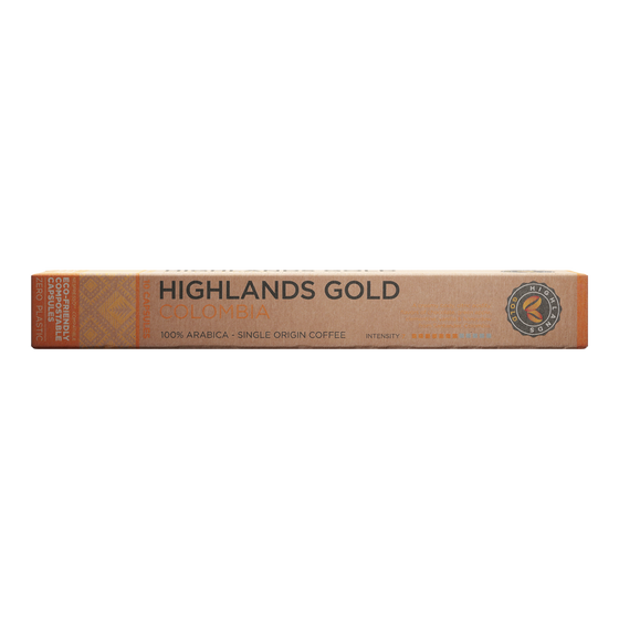 Highlands Gold - nespresso kompatibel - Colombia (Organic)