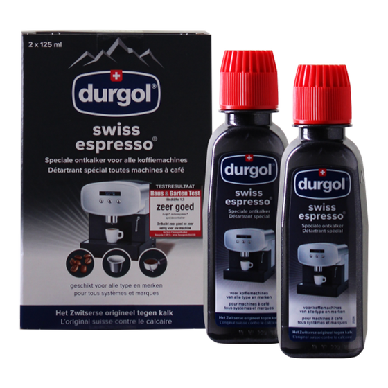 Durgol Swiss Espresso Ontkalker Set (6 x 125 ml)